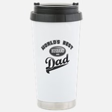 World's Best Husband & Dad Travel Mug