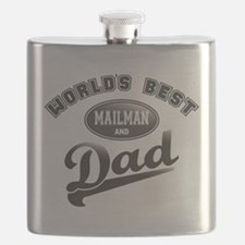 Best Mailman/Dad Flask