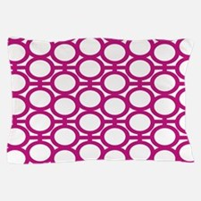 Magenta Bubble Eyelets Pillow Case