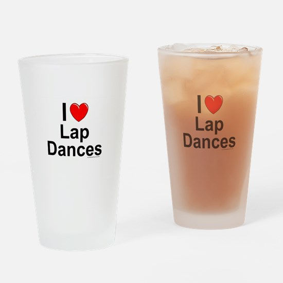 Lap Dances Drinking Glass