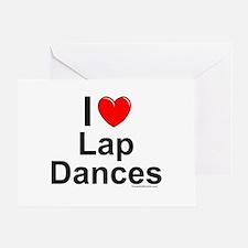 Lap Dances Greeting Card
