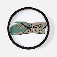 Michaels Army Logo Wall Clock