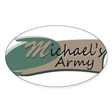 Michaels Army Logo Decal