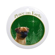 Brussels Peace Ornament (Round)