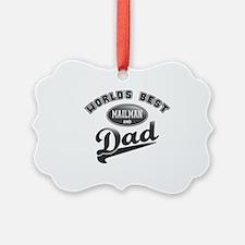 Best Mailman/Dad Ornament