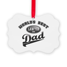 Best Lawyer/Dad Ornament