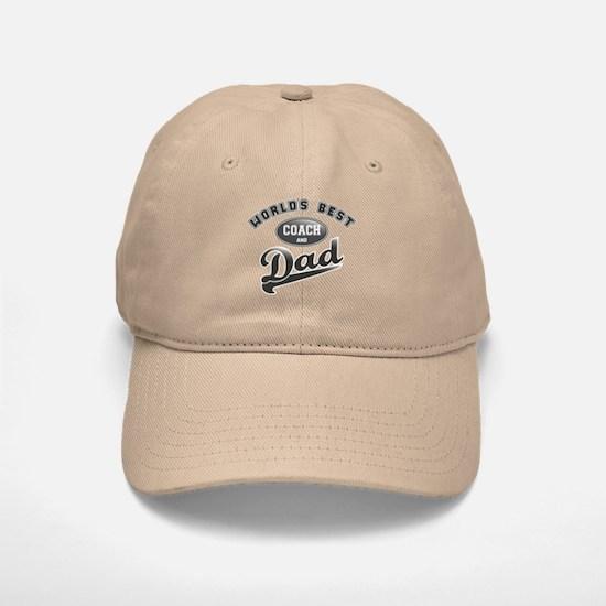 Best Coach/Dad Baseball Baseball Cap