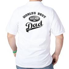 Best Mailman/Dad T-Shirt