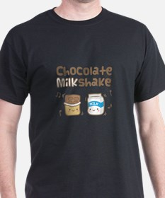 Cute Chocolate Milkshake T-Shirt