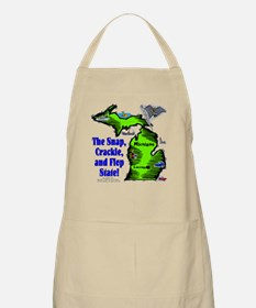 MI-Crackle! BBQ Apron