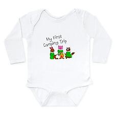 Cute Girl scout Long Sleeve Infant Bodysuit