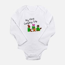 Unique Hiking baby Long Sleeve Infant Bodysuit