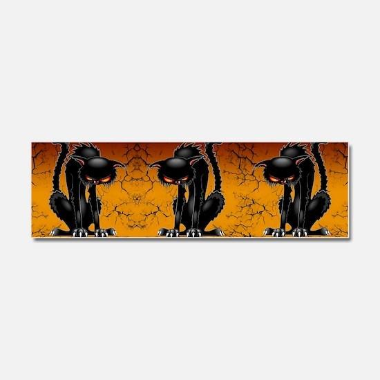 Cool Grumpy cat Car Magnet 10 x 3