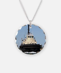 Tug Boat Tarpan, Outer Harbo Necklace