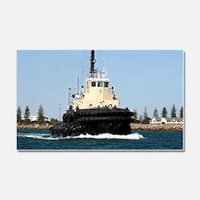 Tug Boat Tarpan, Outer Harbor Car Magnet 20 x 12