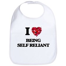 I Love Being Self Reliant Bib