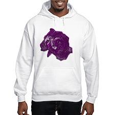 purple roses Hoodie