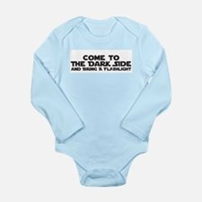 Unique Dark side Long Sleeve Infant Bodysuit