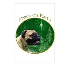 Bullmastiff Peace Postcards (Package of 8)