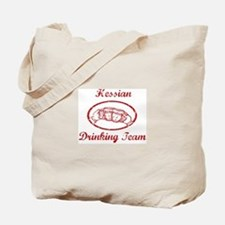 Hessian Drinking Team Tote Bag