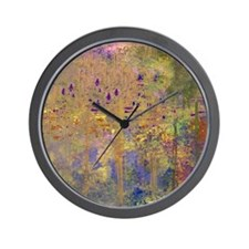Reflections in the Water Wall Clock
