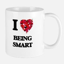 I love Being Smart Mugs