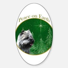Cairn Peace Oval Decal