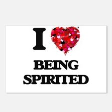 I love Being Spirited Postcards (Package of 8)
