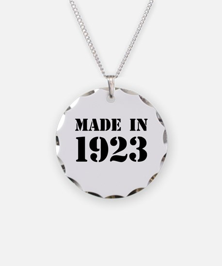 Made in 1923 Necklace