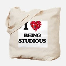I love Being Studious Tote Bag