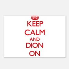 Keep Calm and Dion ON Postcards (Package of 8)
