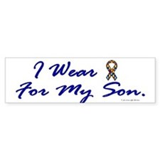 For My Son (Puzzle Ribbon) Bumper Bumper Sticker