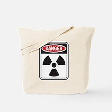 Danger Radiation Tote Bag