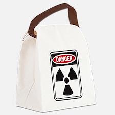 Danger Radiation Canvas Lunch Bag