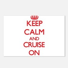 Keep Calm and Cruise ON Postcards (Package of 8)