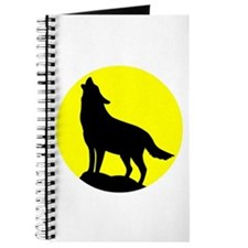Wolf Howling at the Moon Journal
