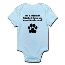 Its A Rhodesian Ridgeback Thing Body Suit