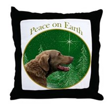 Chessie Peace Throw Pillow
