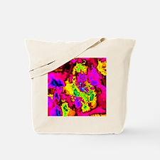 Cute Neon fractal Tote Bag