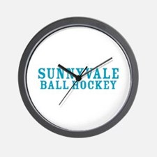 Cute Sunnyvale Wall Clock