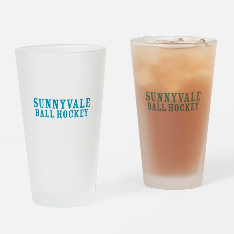 Cute Sunnyvale Drinking Glass