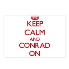 Keep Calm and Conrad ON Postcards (Package of 8)