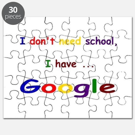 Unique Google Puzzle