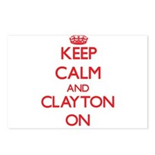 Keep Calm and Clayton ON Postcards (Package of 8)