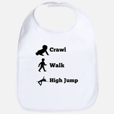 Crawl Walk High Jump Bib