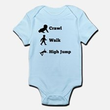 Crawl Walk High Jump Body Suit