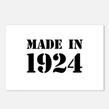 Made in 1924 Postcards (Package of 8)