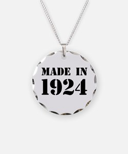 Made in 1924 Necklace