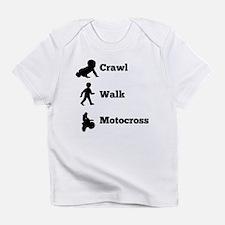 Crawl Walk Motocross Infant T-Shirt
