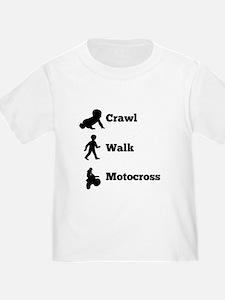 Crawl Walk Motocross T-Shirt